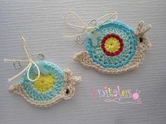 Knitales: Mοmmy & Baby Snail!