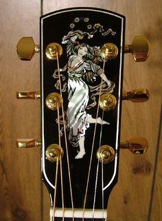 Rare Guitars, Unique Guitars, Custom Guitars, Vintage Guitars, Guitar Girl, Cool Guitar, Banjo, Ukulele, All Music Instruments