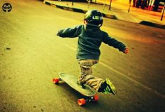 Teach a lil shredder to skate!