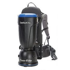 Comfort Pro backpacks deliver superior comfort, plus improved cleaning performance and productivity.$366.45/Each #backpackvacuum #ComfortPro #powrflite
