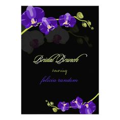 See MorePixDezines purple orchid/bridal/diy background Personalized InvitationIn our offer link above you will see