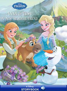 Anna and Elsa: A New Reindeer Friend