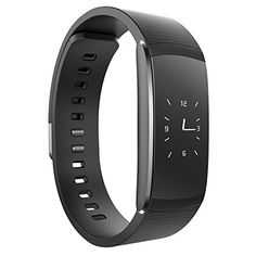 iWOWN i6 Pro Fitness Tracker, Heart Rate Monitor Smart Watch Bluetooth 4.0 for IOS 8.0/Above, Android 4.4/Above ** Want to know more, click on the image.