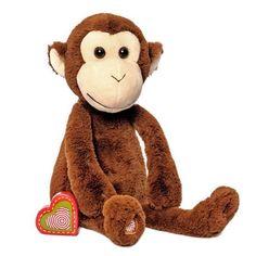 15575d8abcc Vintage Monkey. My Baby s Heartbeat Bear