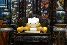 Queen Kitty White in Beijing