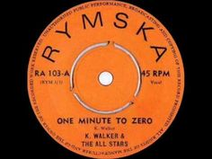 KEITH WALKER & THE ALL STARS - ONE MINUTE TO ZERO
