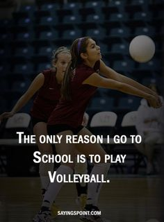 Are you looking for beautiful Sayings about Volleyball? Discover our Manual selection of the finest and most beautiful Volleyball Sayings.Volleyball is not just a sport; Volleyball Crafts, Volleyball Memes, Play Volleyball, Volleyball Players, Girls Basketball, Volleyball Problems, Volleyball Skills, Volleyball Ideas, Basketball Floor