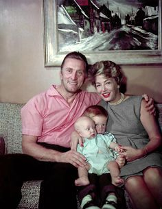 Anne Douglas, Irish Girl Sunbathing, Hollywood Stars, Classic Hollywood, John Huston, Gina Lollobrigida, Leagues Under The Sea, Old Movie Stars, Sons