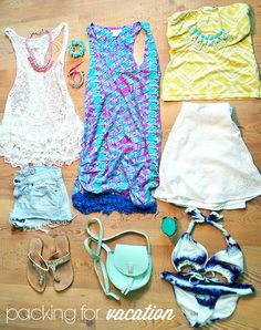 Packing for a Beach Vacation