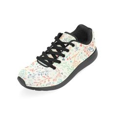 newest 73402 136df InterestPrint Womens Road Running Shoes Jogging Lightweight Sports Walking  Athletic Sneakers Tropic Leaves Size 7 BM
