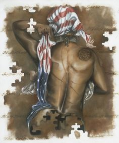 Unknown Soldier female - 26x22 limited edition - Edwin Lester