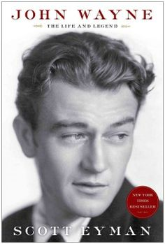 John Wayne : the life and legend by Scott Eyman.  Click the cover image to check out or request the biographies and memoirs kindle.