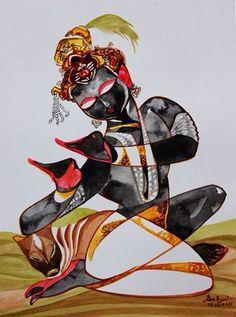 New Forever series. Watercolor.  #Krishnafortoday