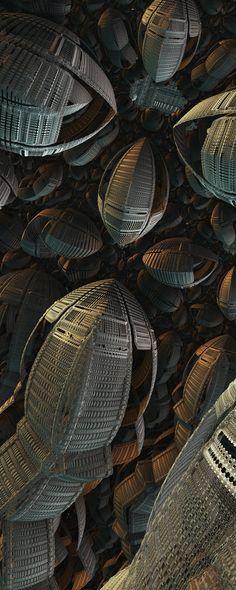ModernKnight by FractsSH.deviantart.com fractal art made with mandelbulb 3d