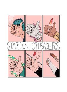 Jojo& Bizarre Adventure : Stardust Crusaders (from top left to bottom right. Jojo's Bizarre Adventure, Jojo's Adventure, Manga Anime, Anime Art, Jojo Bizarre, Bizarre Art, Jojo Stardust Crusaders, Joseph Joestar, Jojo Anime
