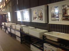 Heritage stock a complete range of fireclay sinks - see Heritage Building Centre website for more details