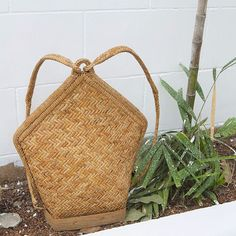 Amihan Rattan Backpack  handwoven in the mountain province  abacastore.com #abacastore