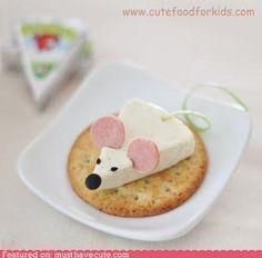 Cute idea for snacks!