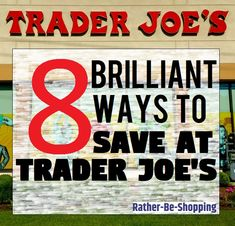 8 Brilliant Trader Joe's Shopping Tips (Shop Smart and Save) Best Money Saving Tips, Money Tips, Saving Money, Save Your Money, Ways To Save Money, Preparing For Retirement, Household Expenses, Trader Joes, Saving Ideas