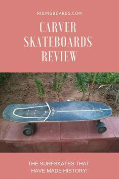 If you're considering buying a surf skateboard, you can't go wrong with a Carver. Though Carver's boards can be pricey, they are worth every penny!  You'll need to decide which Carver trucks and which deck is right for you. Read this for more on how to pick your Carver gear and start surfing the streets.