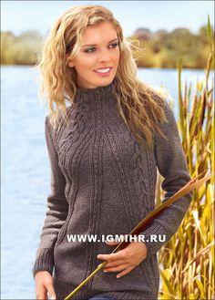 пуловер с описанием verena