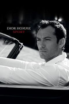 Jude Law by Peter Lindbergh for Dior Homme Sport 2012. http://www.lhommetendance.fr/parfum-homme-dior-homme-sport/