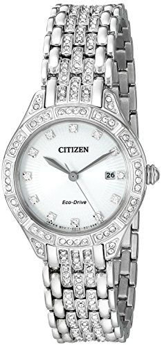 Citizen Eco-Drive Women's 'Silhouette' Quartz Stainless Steel Casual Watch, Color: Silver-Toned (Model: EW2320-55A) https://www.carrywatches.com/product/citizen-eco-drive-womens-silhouette-quartz-stainless-steel-casual-watch-color-silver-toned-model-ew2320-55a/ Citizen Eco-Drive Women's 'Silhouette' Quartz Stainless Steel Casual Watch, Color: Silver-Toned (Model: EW2320-55A)  #citizenquartzwatch