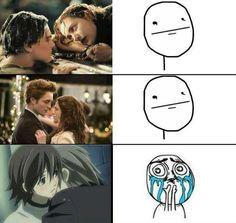 Yep... real tears. (Junjou Romantica)....... oh my gosh....