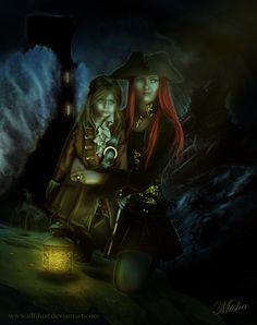 Surviving a Curse of High Seas by elfdust.deviantart.com