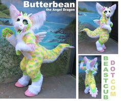 Butterbean the Angel Dragon by Beastcub