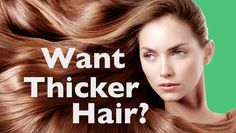 How Can I Get Thicker Hair  Without Shampoo?