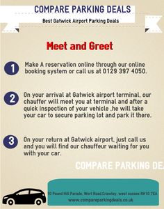 Compare parking deals sophiemark99 on pinterest we provide cheap meet and greet parking at gatwick valet parking gatwick and park and m4hsunfo