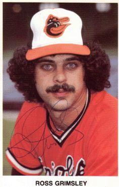 Ross Grimsley Baltimore Orioles 1972 1978 Baseball Baltimore