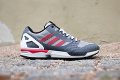 adidas ZX Flux Weave Red & Grey