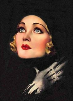 Rolf Armstrong beautiful woman vintage illustration