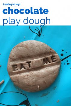 chocolate play dough
