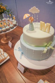 cha bebe chuva bencaos blog minhafilhavaicasar 8 Baby Shower Cakes, Birthday Cake Girls, Birthday Parties, Rainny Day, Cake Decorating For Beginners, Rain Shower, Fondant Cakes, Amazing Cakes, Chai