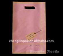 Custom Plastic Handle Fashion Bag