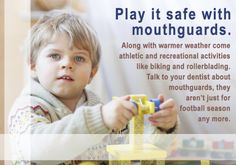 April - Play it safe with mouthguards