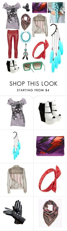 """""""Kennedy 'kennie'"""" by llamapoop ❤ liked on Polyvore featuring Rise & Revolt, Isabel Marant, Gareth Pugh, Anni Jürgenson, ASOS, Balmain, Forever 21, Aspinal of London, Cheap Monday and Eddie Borgo"""