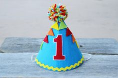 Hey, I found this really awesome Etsy listing at https://www.etsy.com/listing/225597468/boys-1st-birthday-party-hat-boys-felt
