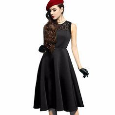 d472c8c5428 Lanon Knee-length Solid Sleeveless Hot Sale Rushed Office Dress Vestidos De  Fiesta Plus Size Charm Women Dress Tank A-line