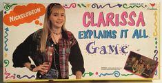 Nickelodeon Clarissa Explains It All Board Game Vintage 1994  | eBay