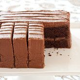 Wellesley Fudge Cake Recipe - Cook's Country from Cook's Country. My favorite chocolate cake :) Perfect Chocolate Cake, Chocolate Fudge Cake, Sweet Recipes, Cake Recipes, Dessert Recipes, Wellesley Fudge Cake Recipe, Köstliche Desserts, Delicious Desserts, Cooks Country Recipes