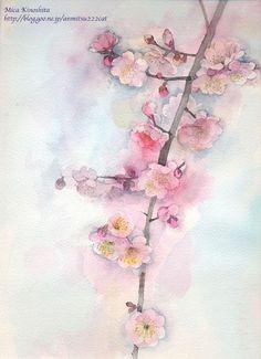 樱花绘画图片8