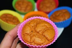 Sweet Potato Muffins - 270 Calories for the whole batch!