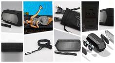 Satten Klang verspricht Soundcast LLC. für den Soundcast VG1 Premium Waterproof Bluetooth Speaker der sich zudem als vielseitige Outdoor-Lösung präsentiert.
