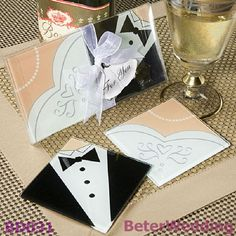 You want your destination wedding to be spectacular. Here are Tips for Making Destination Wedding Gift Bags Easy and Special. Wedding Favors And Gifts, Party Favors, Creative Wedding Gifts, Bride Gifts, Shower Favors, Coaster Design, Coaster Set, Wedding Coasters, Wedding Wishes