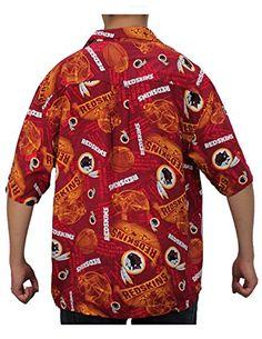 Limited Edition: Mens Washington Redskins Hawaiian Summer Shirt