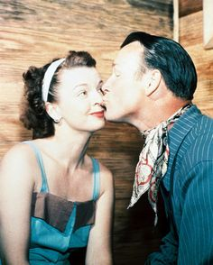 Dale Evans and Roy Rogers. Awwww! SO CUTE!!! Love them so much! :-)